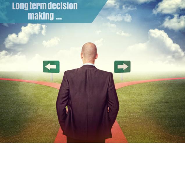 Thinking long term