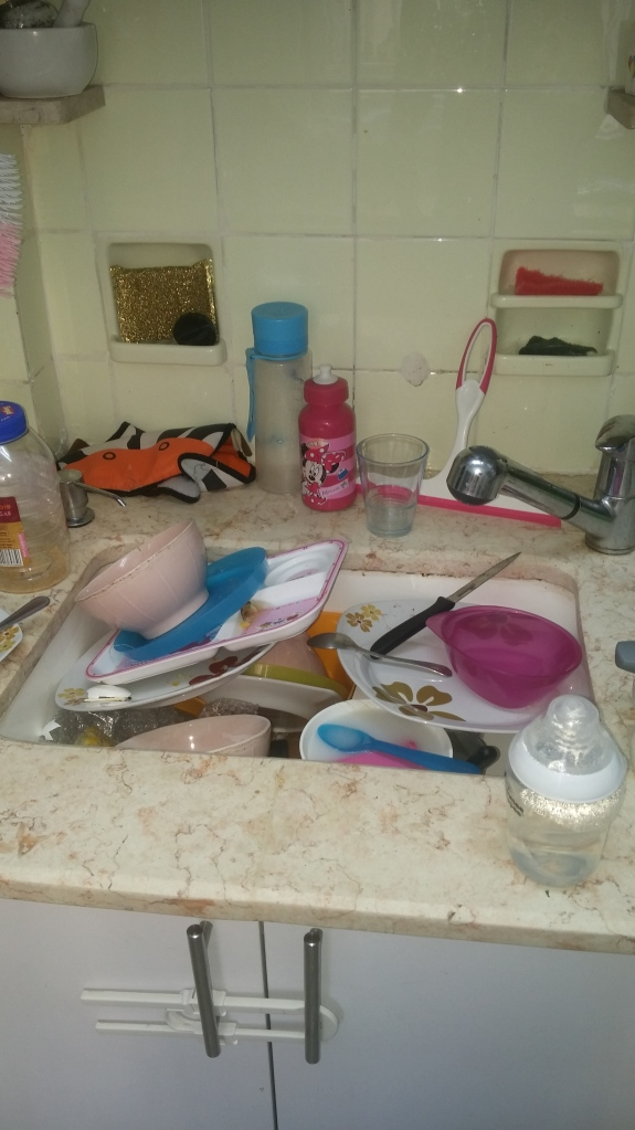 Clean that kitchen sink to clear your head